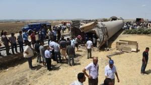 La escena del accidente, a 60 kilómetros de la capital de Túnez.