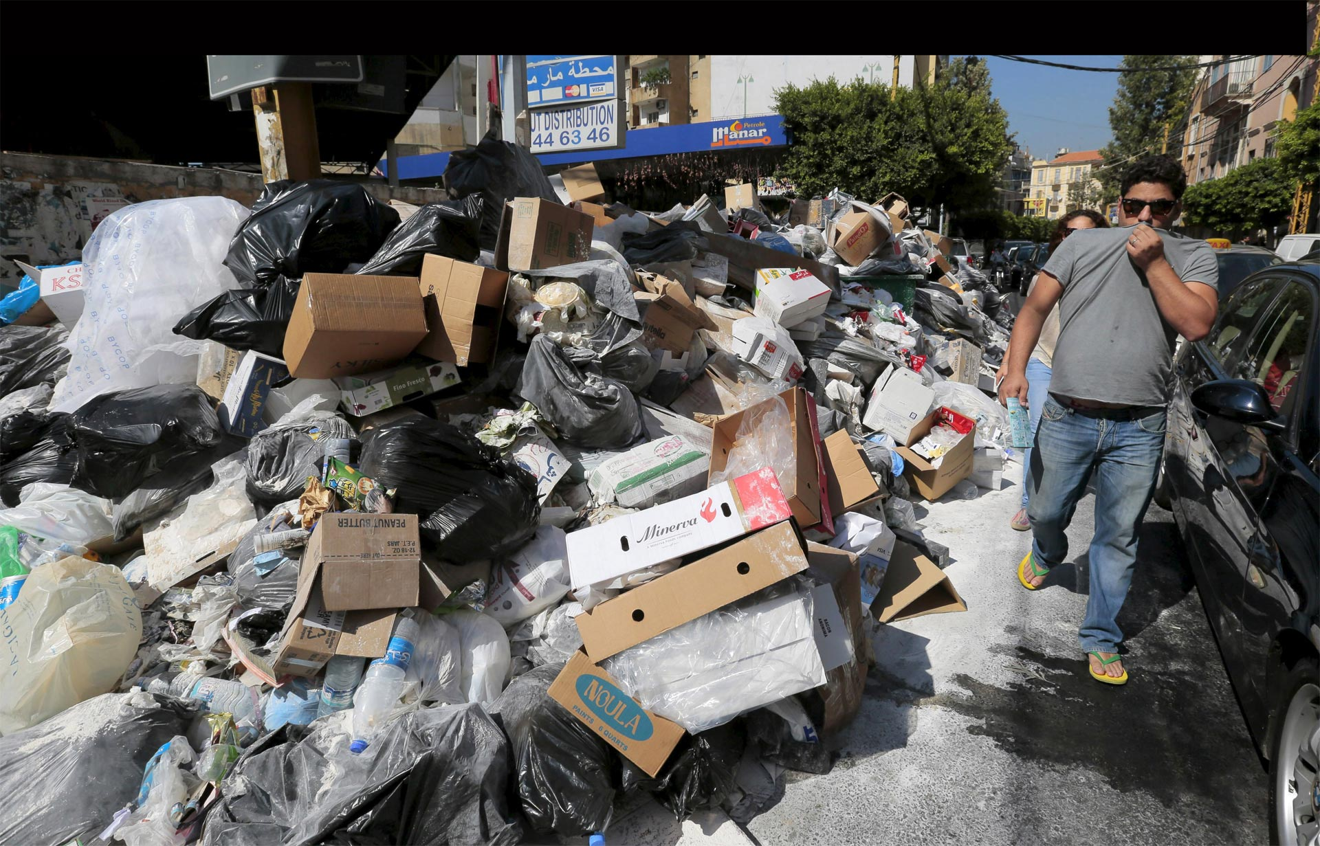 Beirut huele a basura