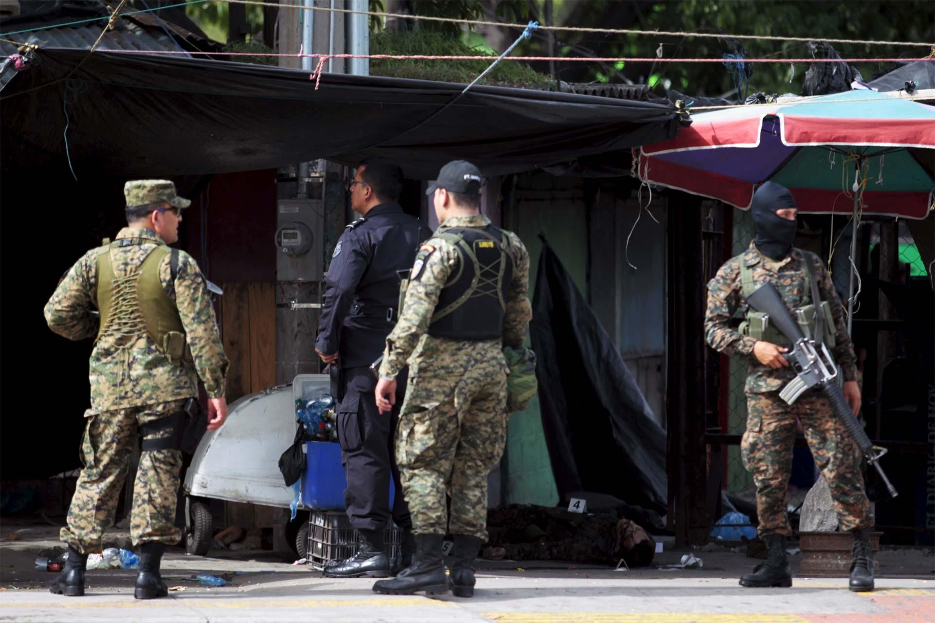El Salvador registra más de 20 crímenes por día