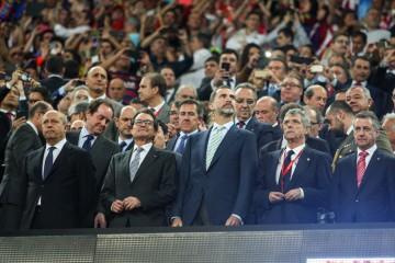 El equipo catalán y el Athletic Bilbao son perjudicados por sus hinchas