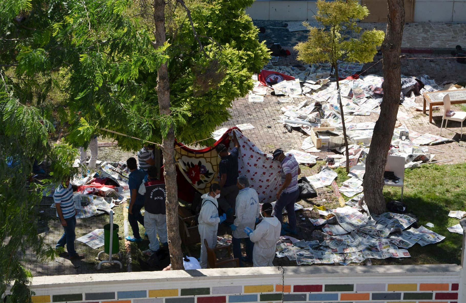 El saldo fue de 30 muertos en. Estado Islámico podría ser el responsable