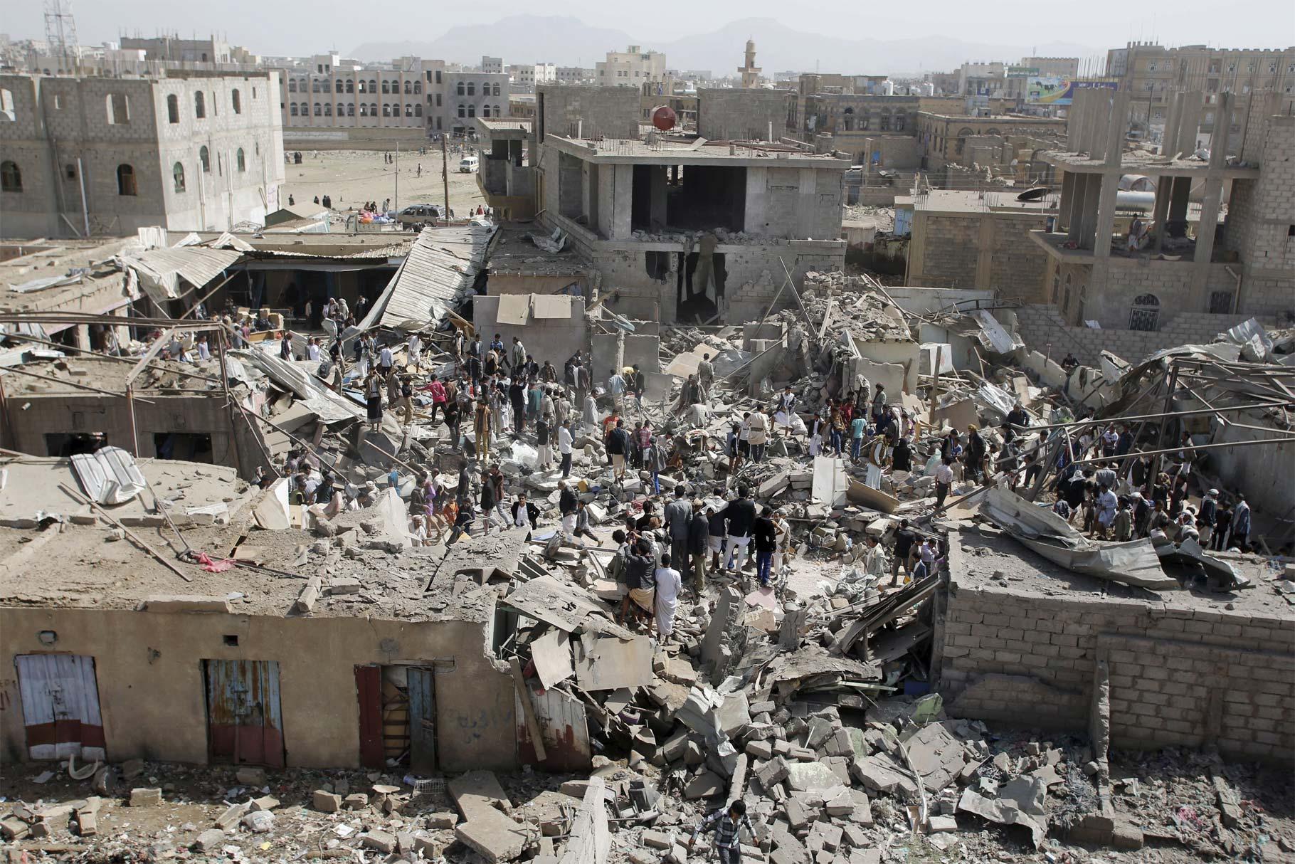 Desde hace días, Yemen mantiene un enfrentamiento entre el gobierno y los rebeldes
