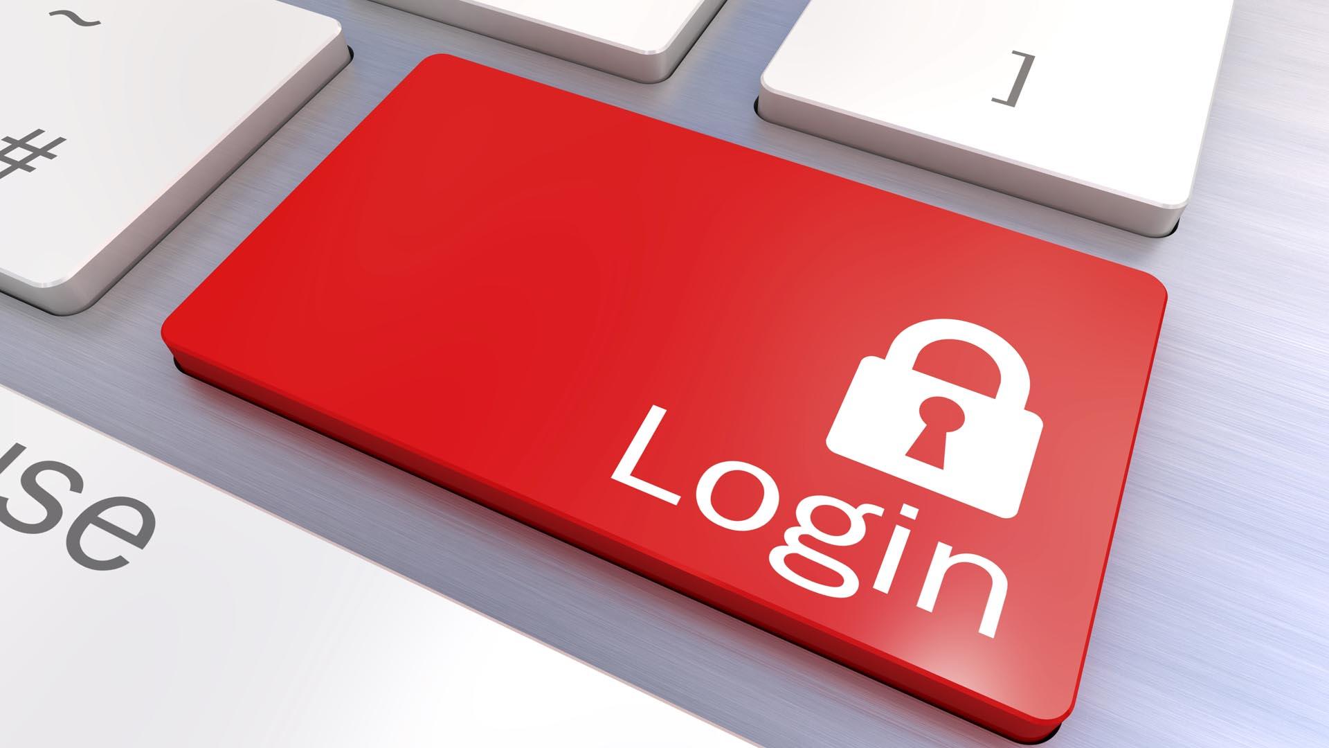 Combinar una clave de acceso con un código móvil y un control biométrico sería lo ideal en seguridad informática