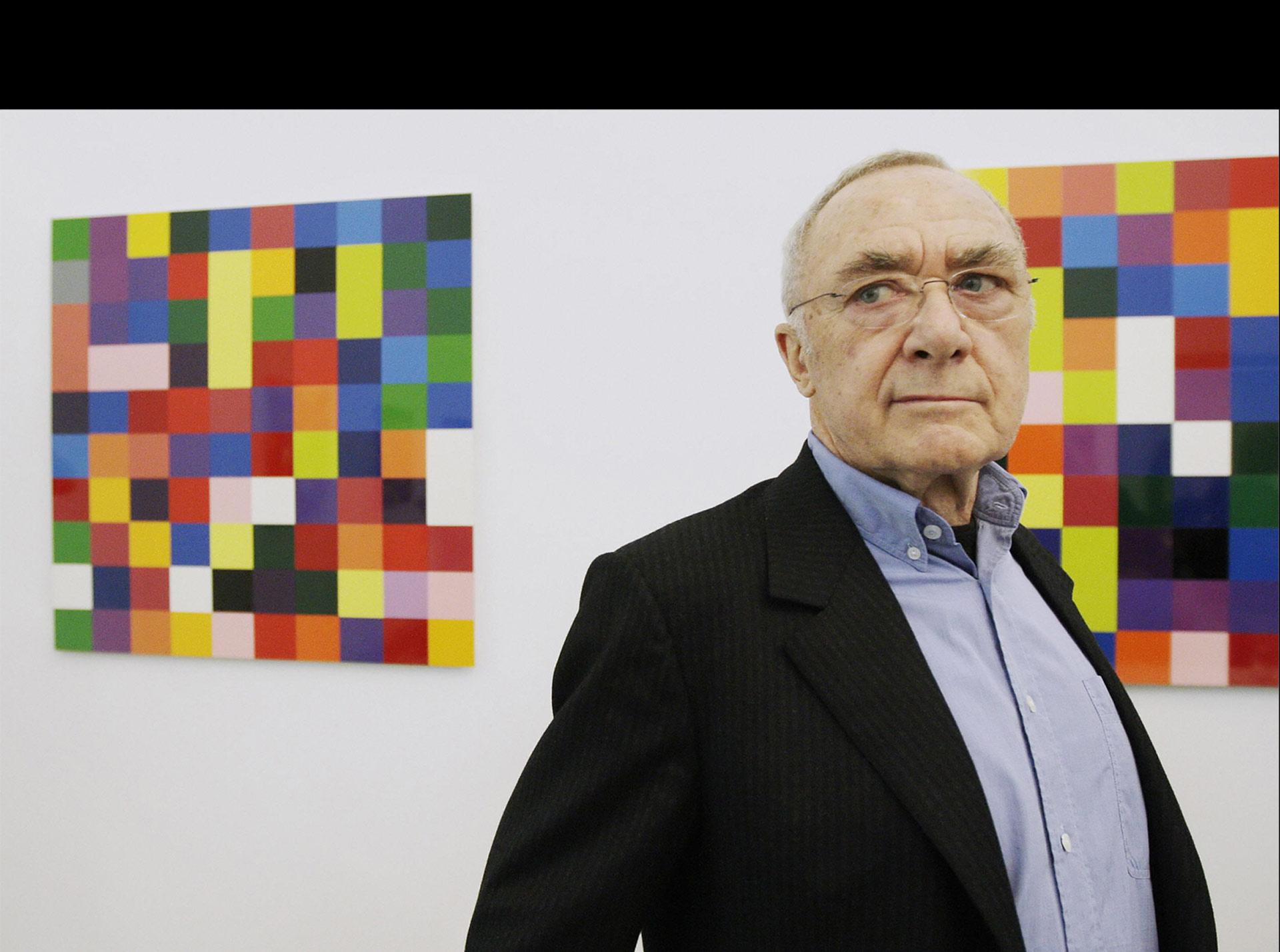 El artista alemán Gerhard Richter es uno de los principales detractores del proyecto de ley