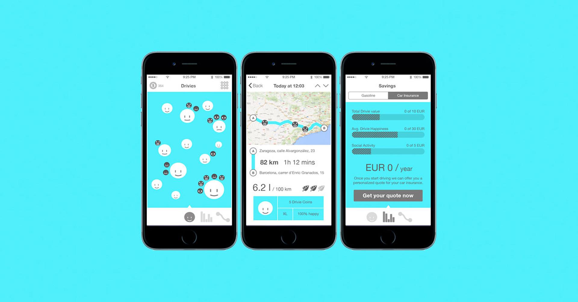 Lanzan una aplicación móvil llamada Drivies, que analiza de forma detallada cómo conducimos para evitar equivocaciones