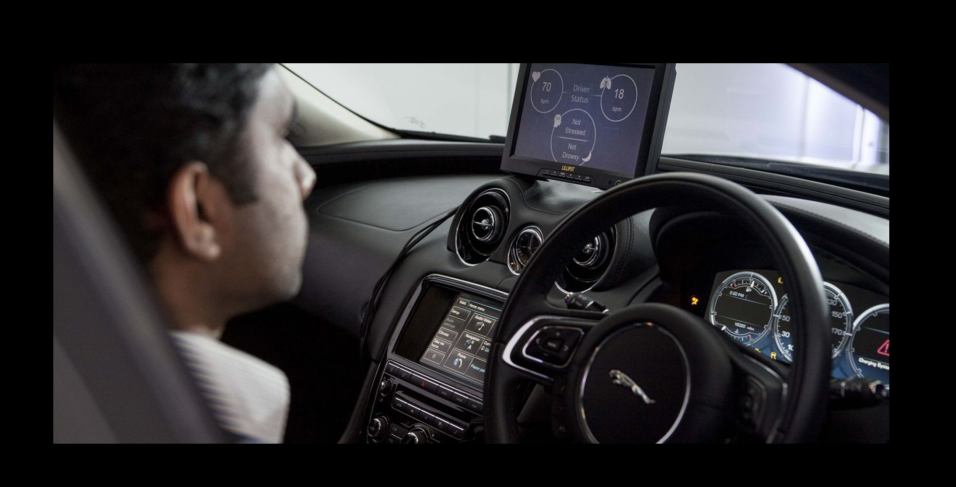 Jaguar Land Rover trabaja en proyecto que detecta cuándo existe una situación de riesgo para el conductor