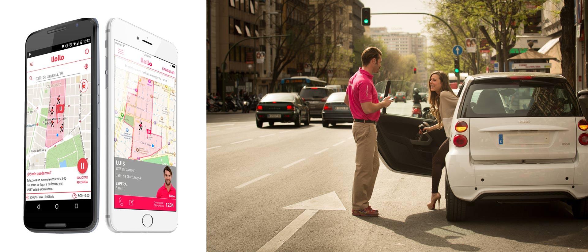 Una aplicación permite que dejes tu carro cuando te vas de viaje de forma segura y cómoda
