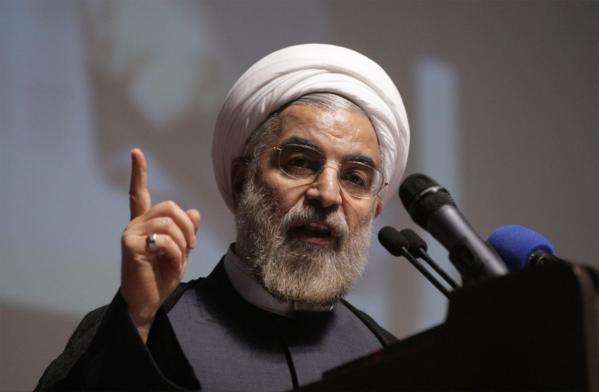 El presidente Hasan Rohani afirma estar contento con el acuerdo nuclear alcanzado con potencias mundiales
