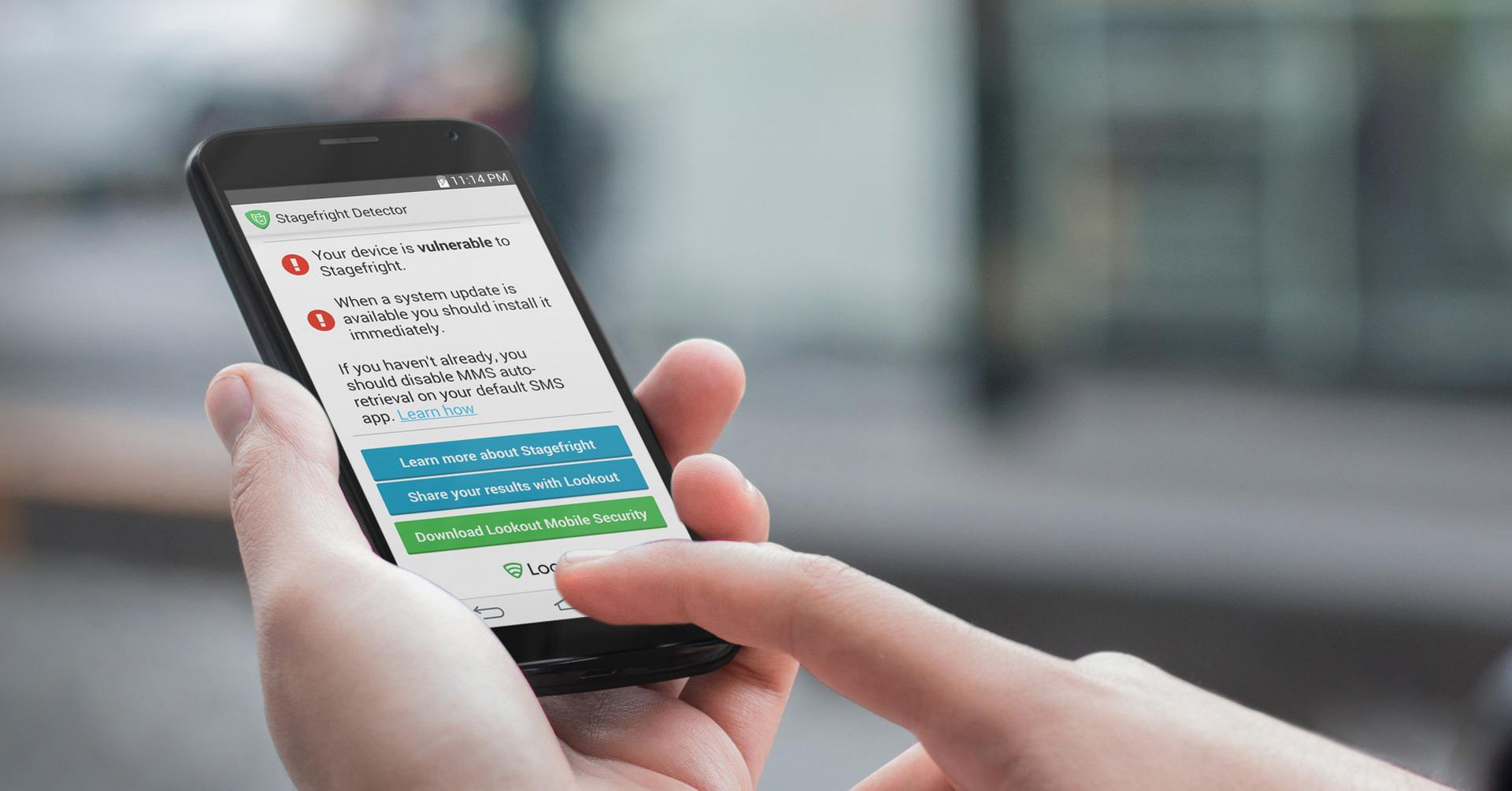 Stagefright Detector determina si tu celular es vulnerable ante el fallo que ataca a 95% de usuarios