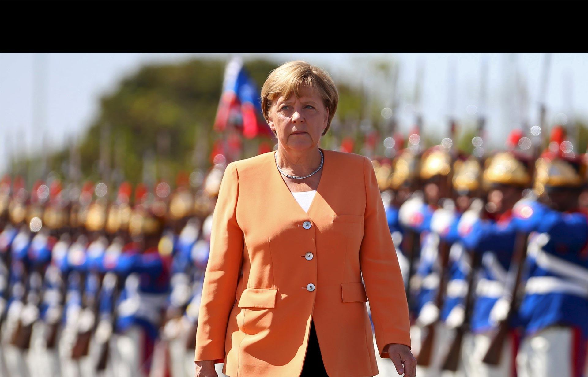 La canciller alemana quiere poner el ojo en las barriadas violentas