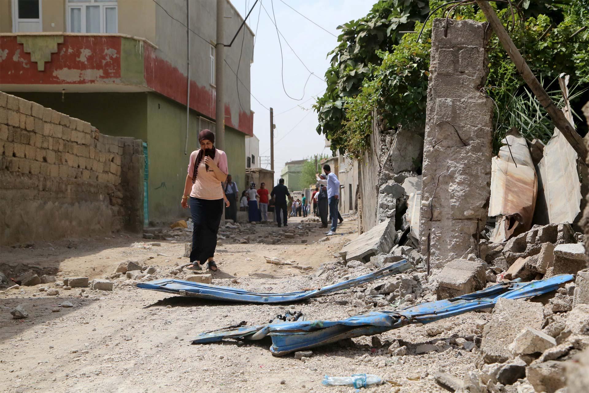 Entre las víctimas se encontraría la líder de la organización femenina del PKK