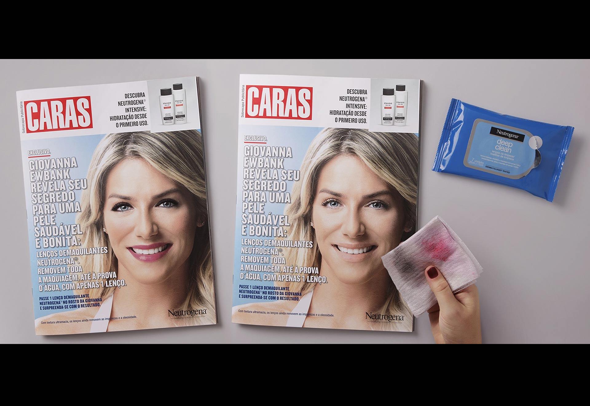 La nueva campaña publicitaria de la empresa quiere mostrar la efectividad de sus toallitas desmaquilantes