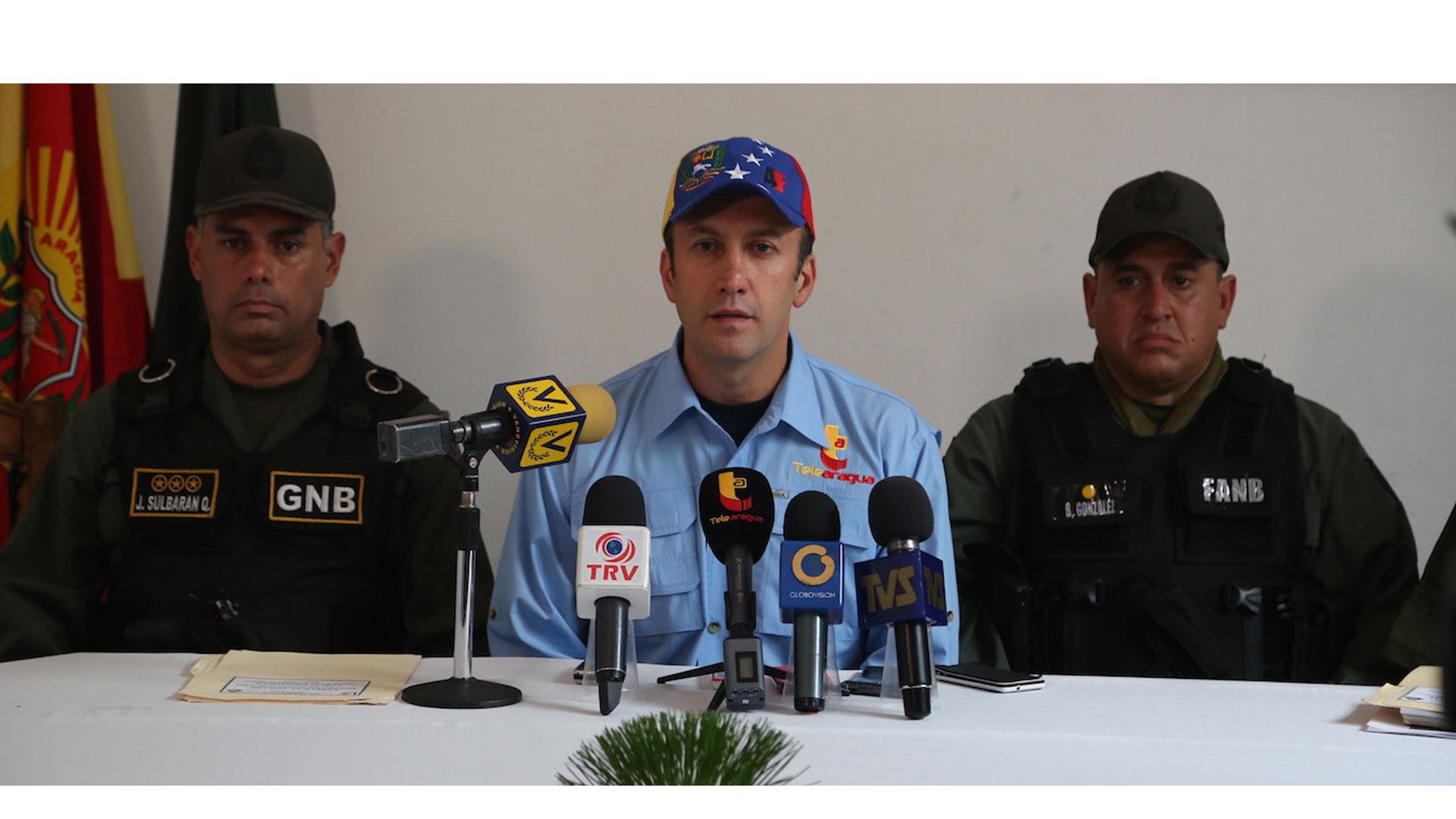 Tareck El Aissami solicitó al Ministerio de Relaciones Interiores, Justicia y Paz una inspección general del cuerpo policial