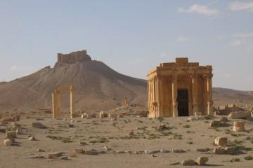Yihadistas del grupo radical dinamitaron el templo de Baal Shamin, ubicado en las ruinas de la ciudad siria de Palmira