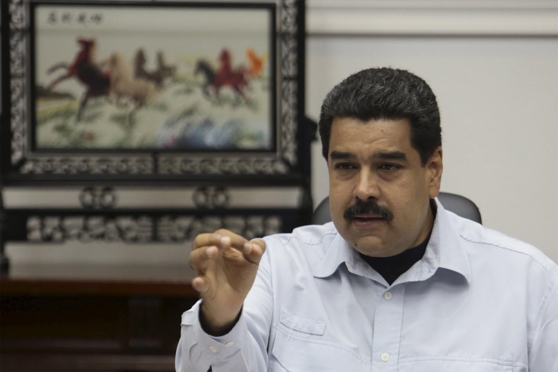 El presidente Nicolás Maduro clausuró la frontera con Colombia en Paraguachón, para proteger a los ciudadanos