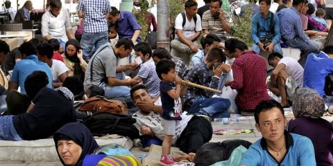 Récord de solicitudes de asilo en la UE