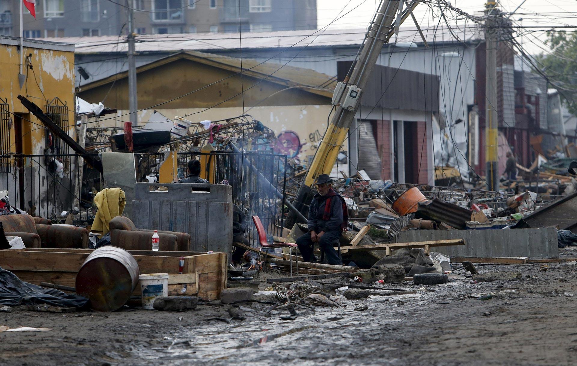Chile ayuda a los damnificados