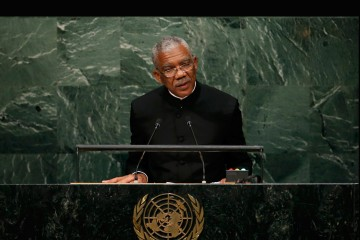 """El presidente de Guyana denunció en la ONU las """"agresiones"""" del país vecino y pidió actuar para arreglar el conflicto"""