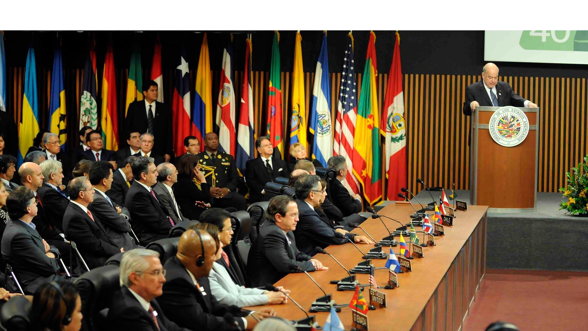 Colombia había pedido la convocatoria de una reunión para analizar la situación humanitaria que viven sus ciudadanos en Venezuela