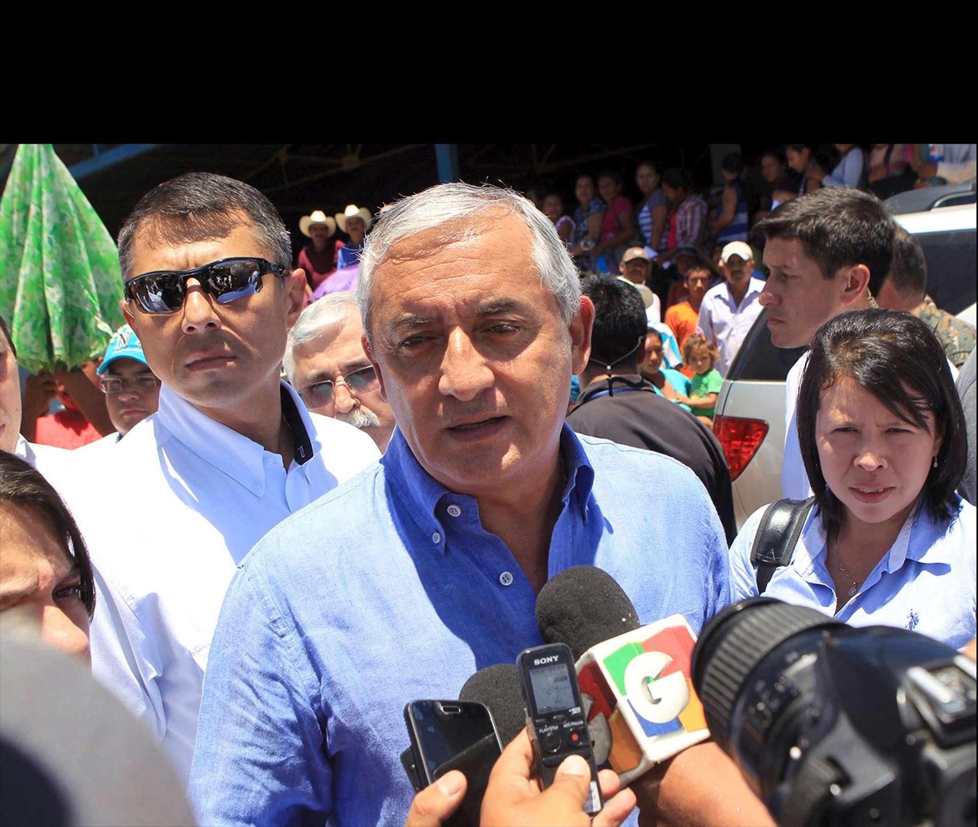"""La fiscal guatemalteca declaró que se trata de """"una medida precautoria"""" para evitar una fuga del presidente"""
