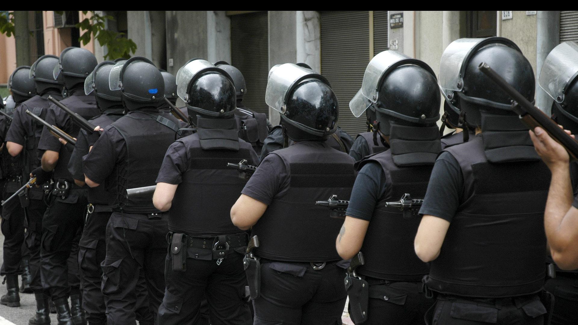 Autoridades tomaron una sede de enseñanza pública en la que estudiantes protestaban por un mayor presupuesto