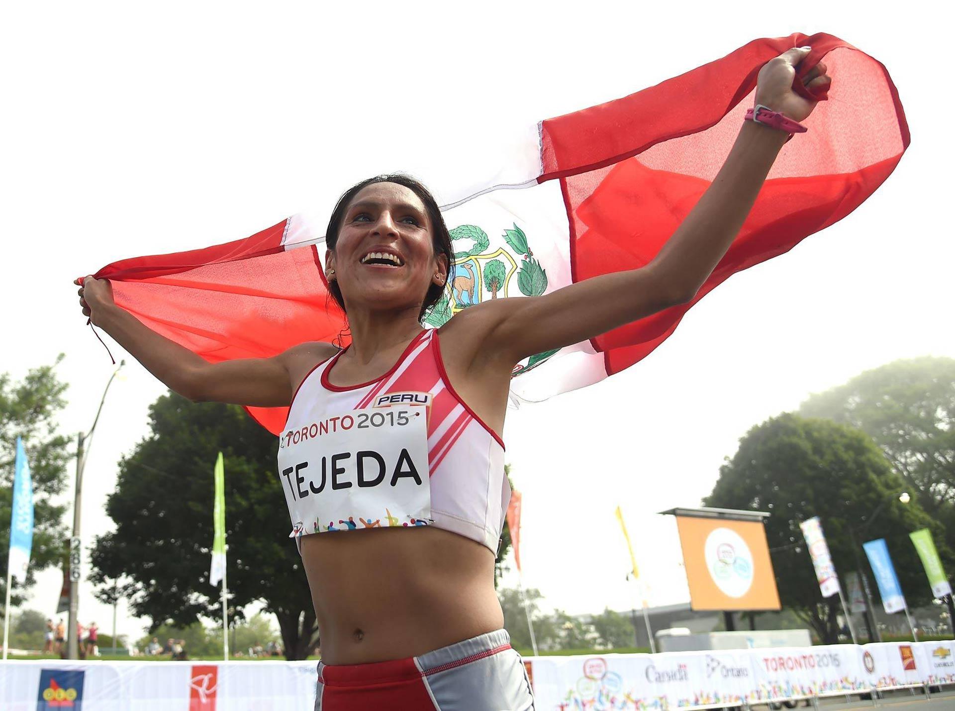 Gladys Tejeda, que ganó oro en los Juegos Panamericanos de Toronto, consumió diuréticos durante la competición