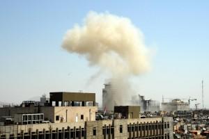 Cuatro granadas cayeron a sus alrededores sin dejar heridos, según reportes oficiales