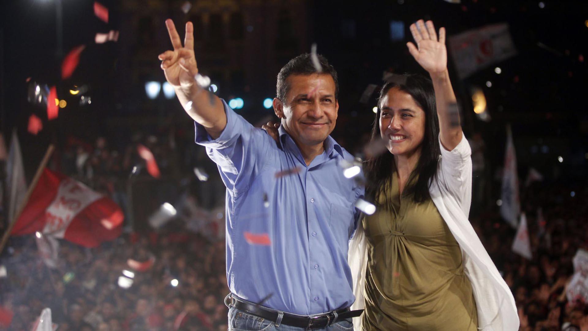 Humala y su esposa niegan los cargos y aseguran sufrir una persecución política