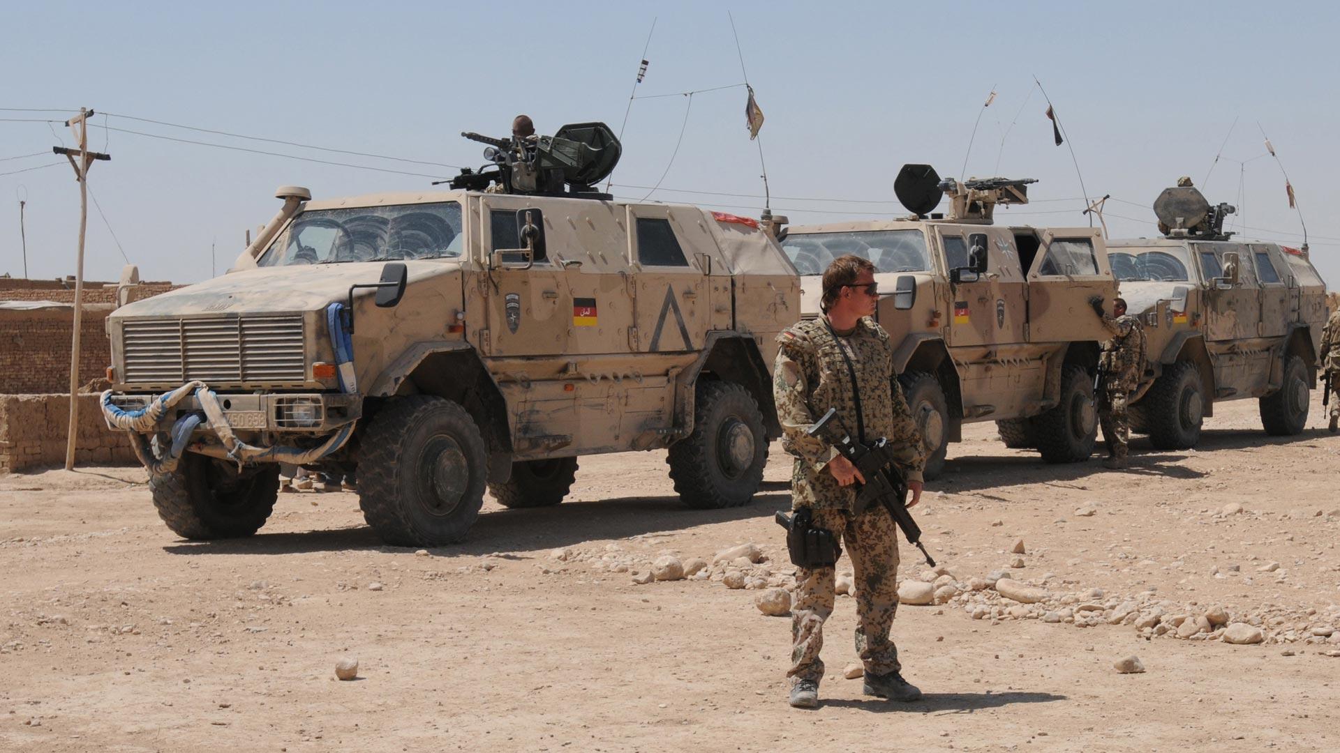 En el país se encuentran cerca de 870 soldados encargados de formar y asesorar a las fuerzas locales