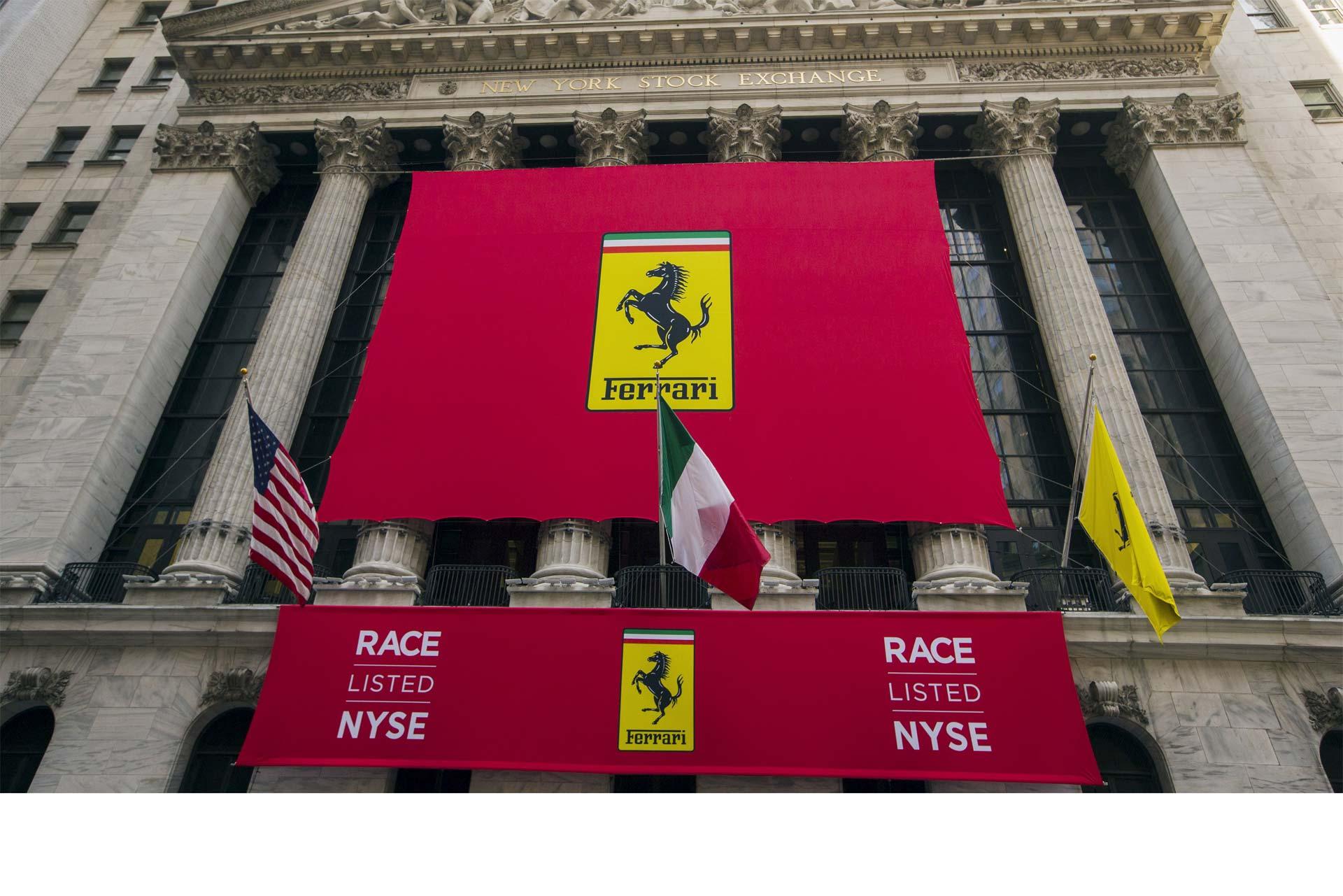 Ferrari acelera en la Bolsa