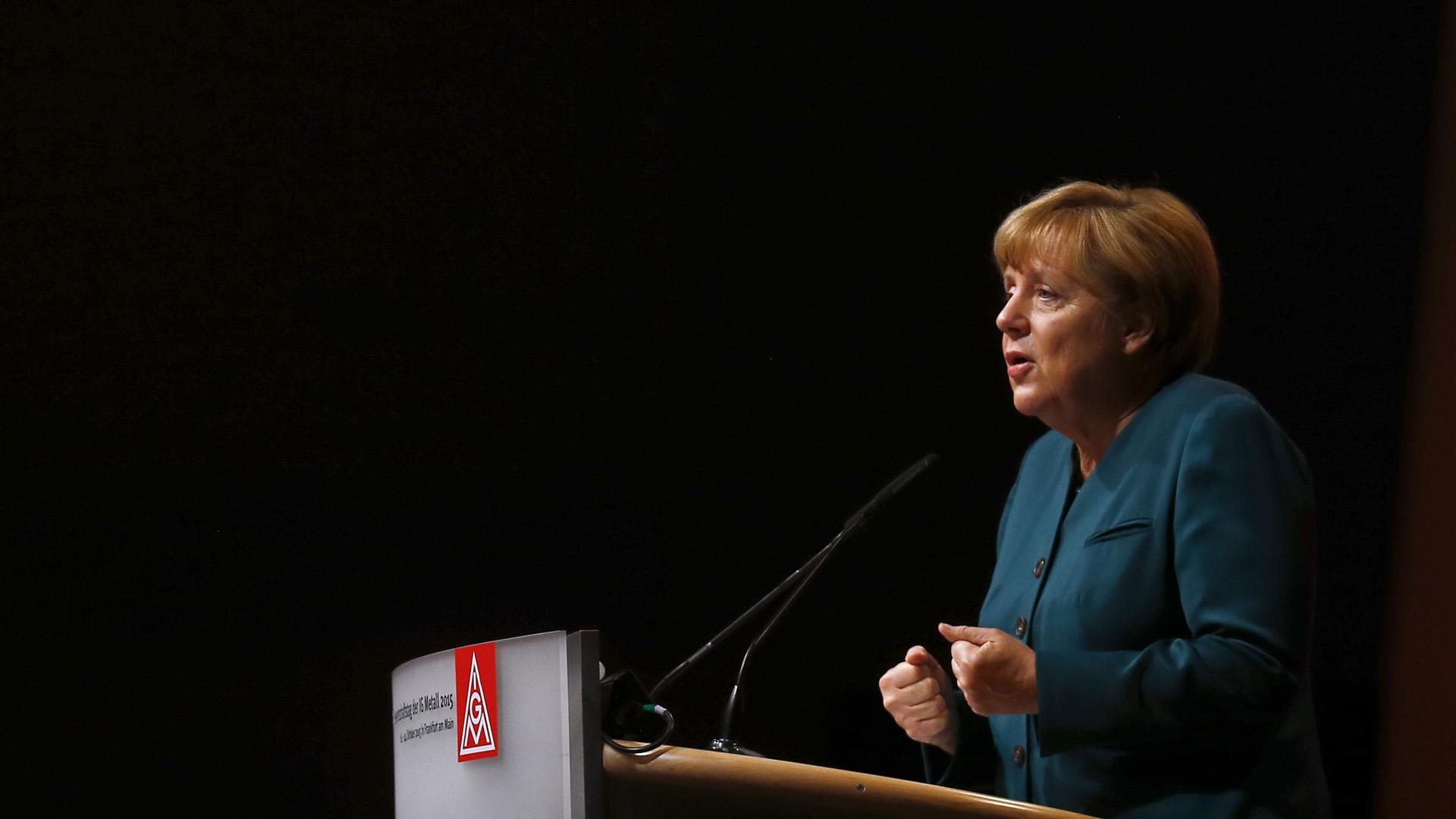 La canciller alemana insistió en que solo los perseguidos recibirán asilo