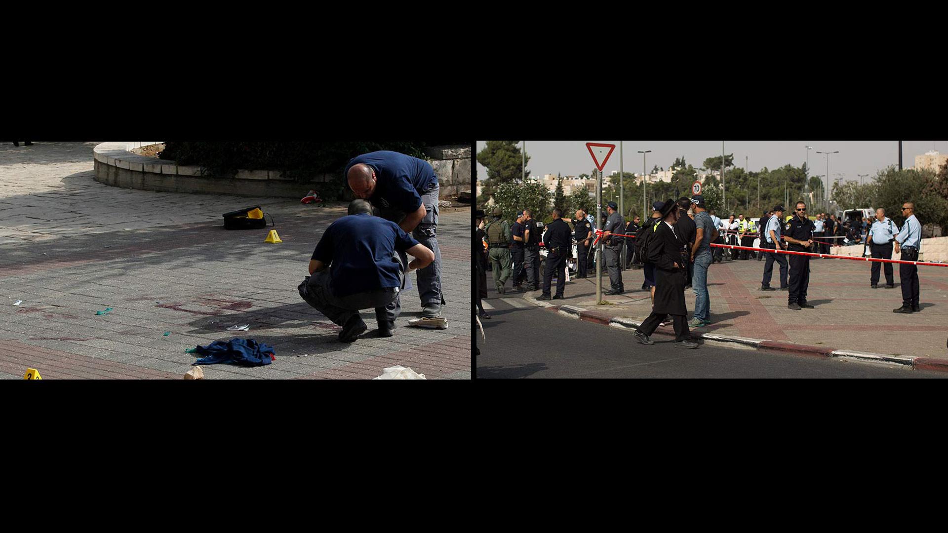 Los dos palestinos que atacaron a los ciudadanos israelíes fueron abatidos por la policía de Jerusalén