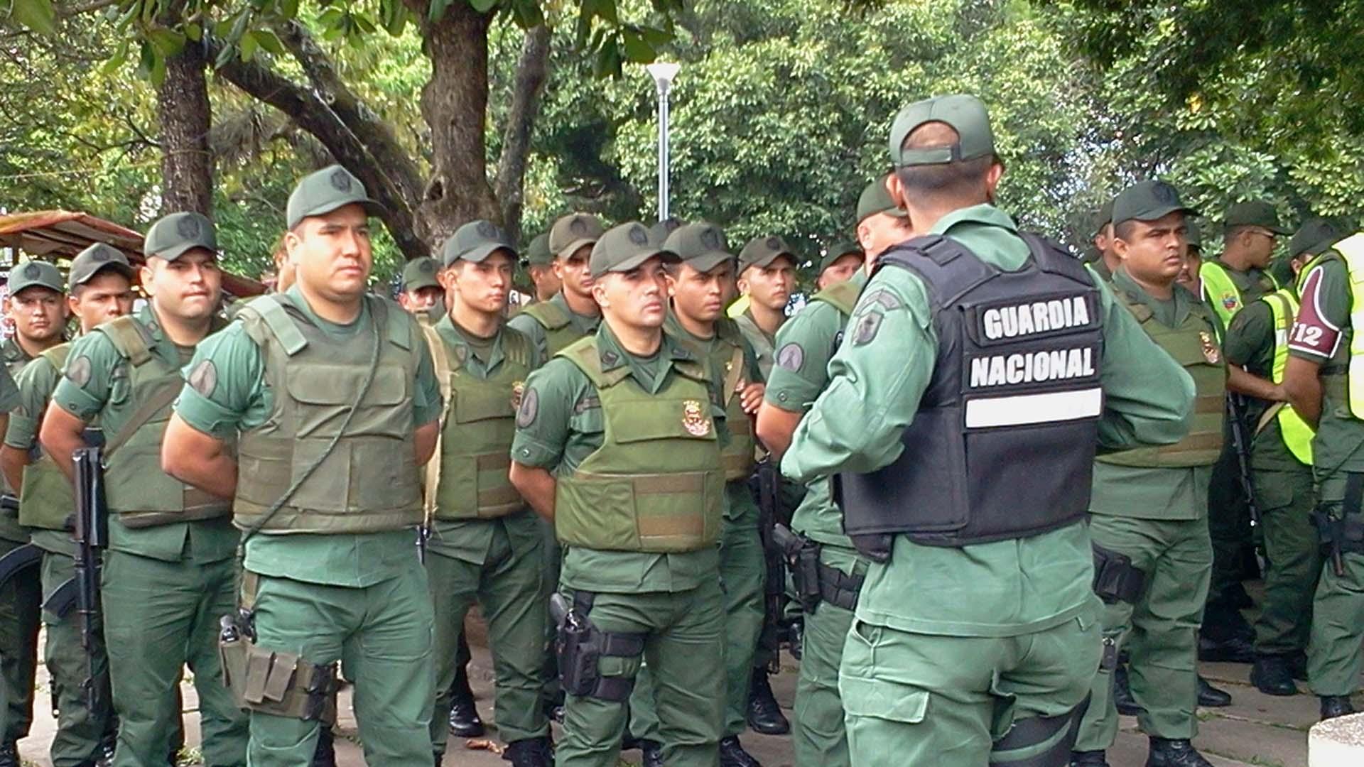 Los efectivos antidrogas fueron encontrados en Valles del Tuy