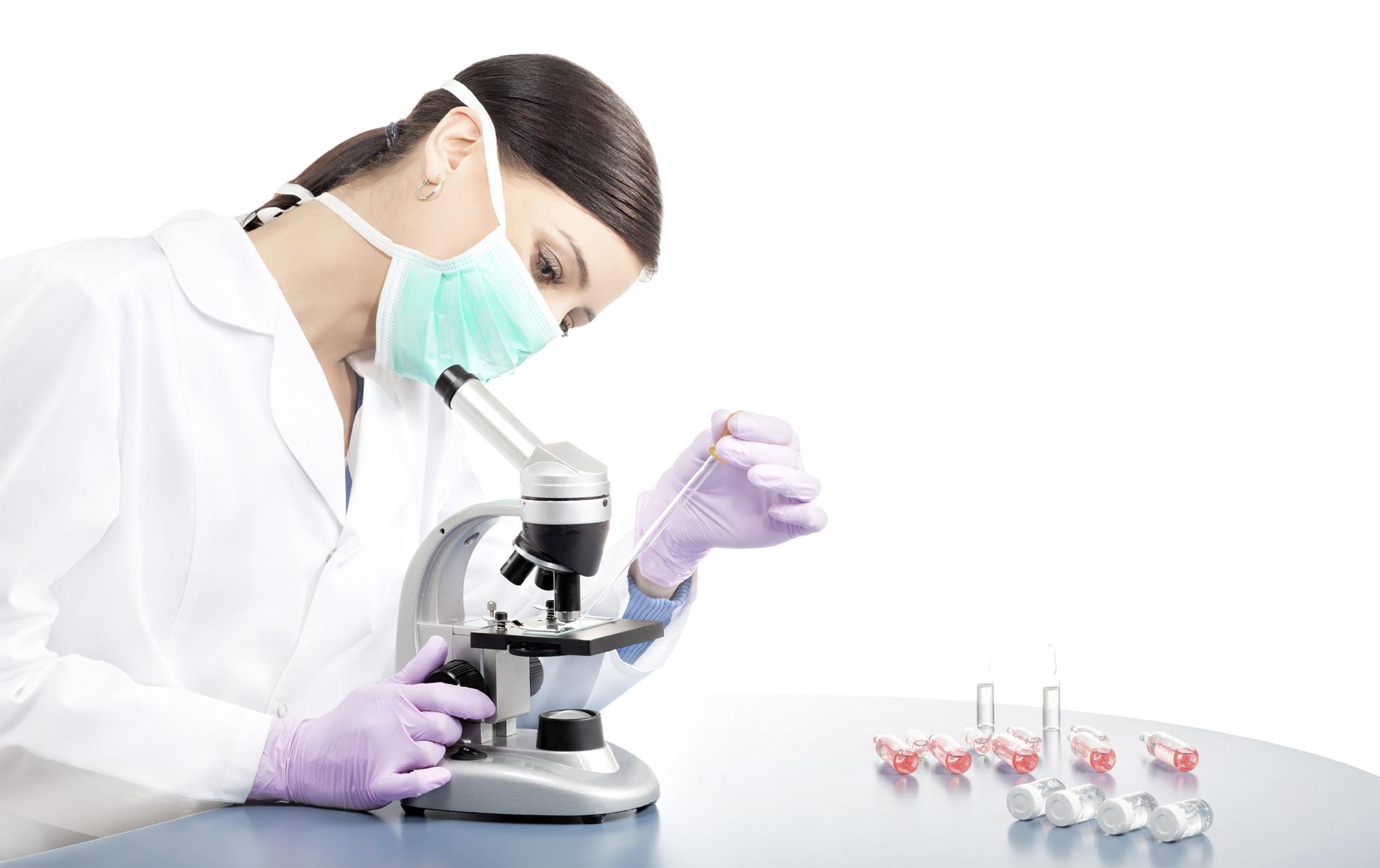 Se tomaron muestras para confirmar o descartar la enfermedad en el paciente