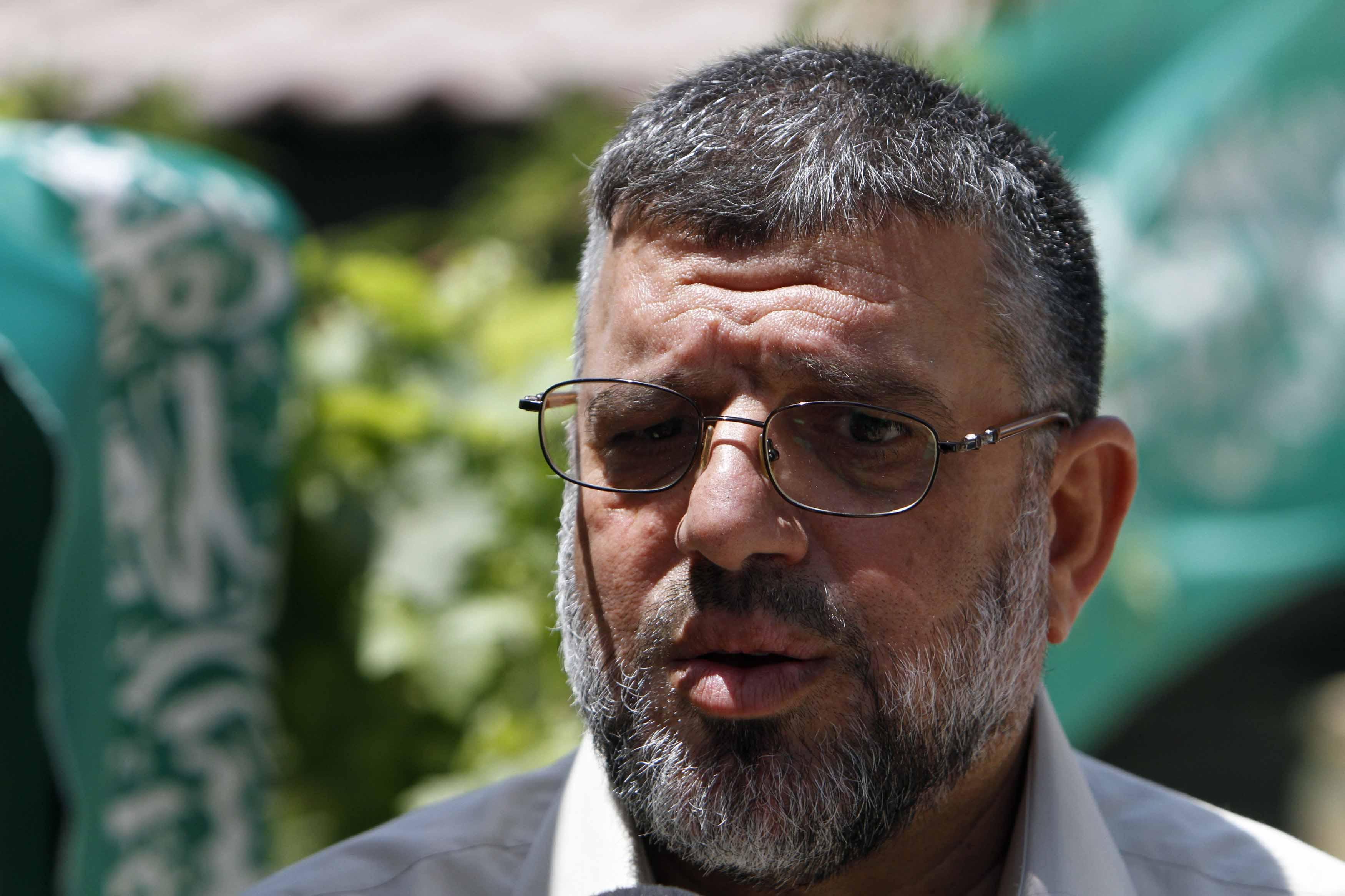 Sheij Hassan Yousef, un alto cargo de Movimiento extremista palestino (HAMAS), es detenido por fuerzas israelíes