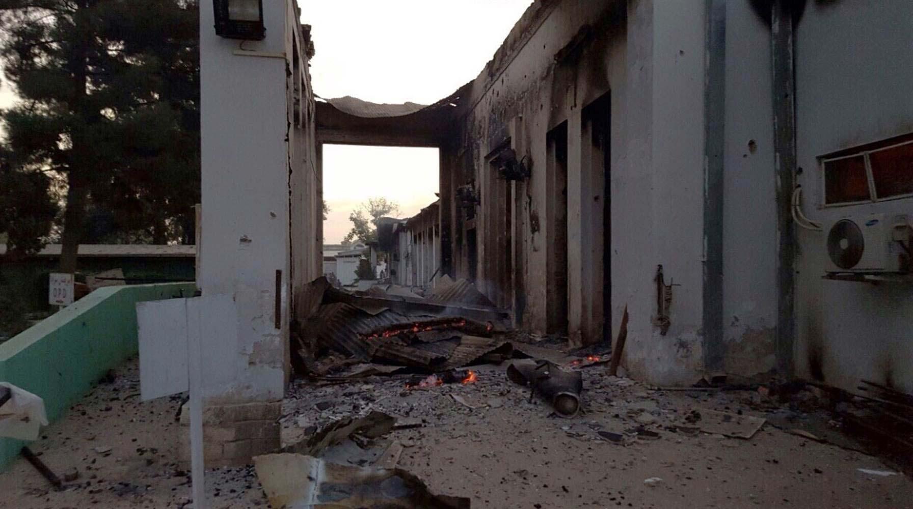 Ataque contra hospital fue pedido por Afganistán