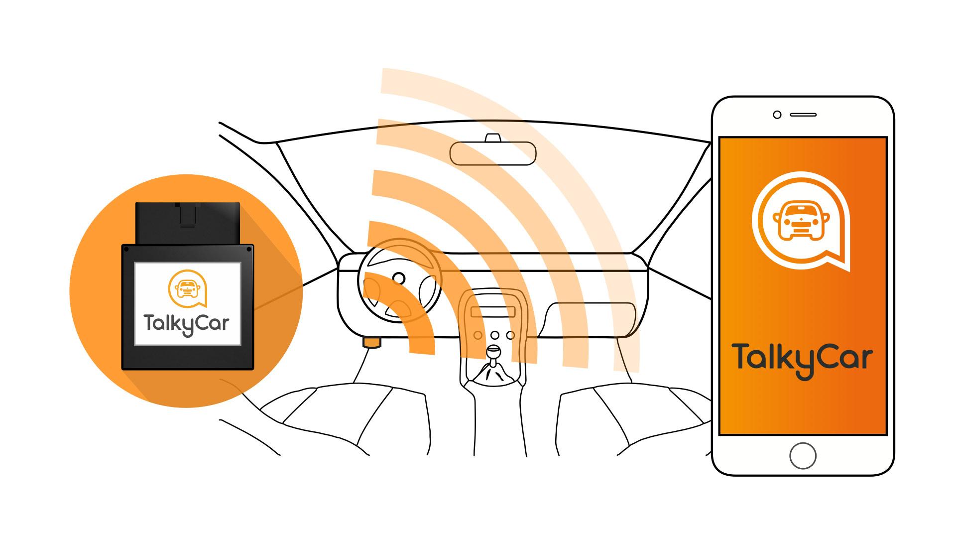 Talkycar creó una aplicación que detecta averías en el carro y avisa a emergencias en caso de accidente