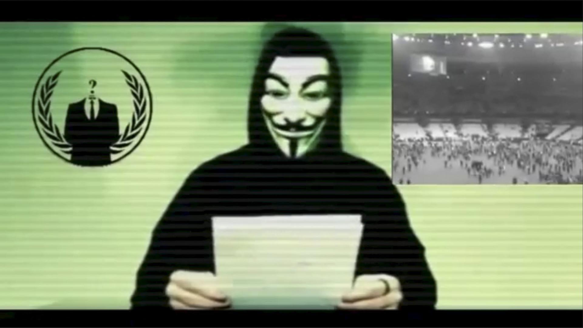 El portavoz de la red de hackers aseguró vendrán ciberataques masivos