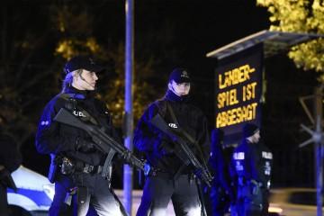Los dispositivos policiales a disposición fueron traslados a Hannover