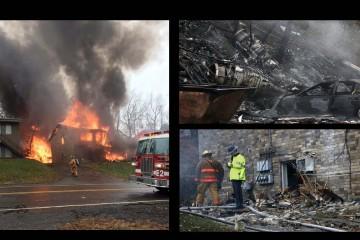 Impactó un edificio residencial que se encontraba vacío en Ohio, EE.UU.