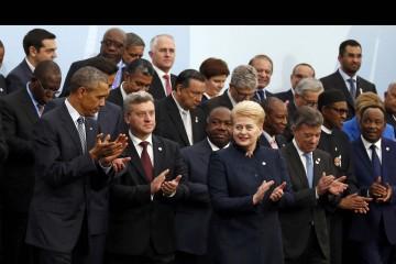 Diversos líderes mundiales se pronunciaron. La idea es llegar a un acuerdo mundial sobre el cuidado del medio ambiente