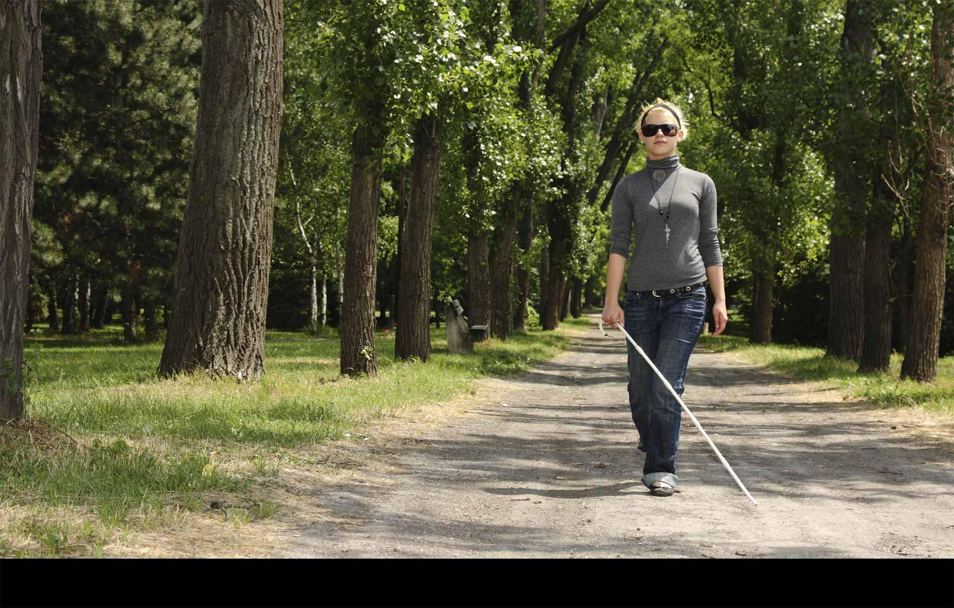 La nueva aplicación funciona como un GPS para los discapacitados