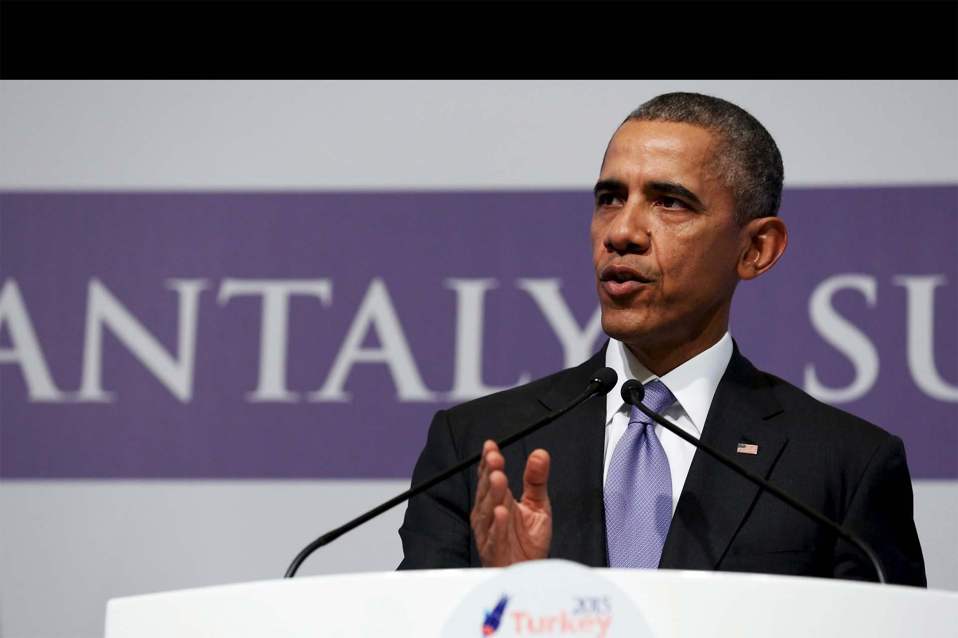 Obama no quiere enviar tropas a gran escala, pues, cree, eso solo tendría éxito si la población local apoya el ataque