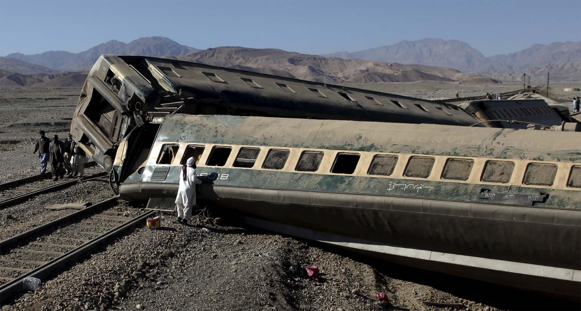 Es el segundo accidente ferroviario en un mes