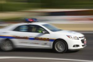 El adolescente, sospechoso de robo de vehículo, fue trasladado al hospital