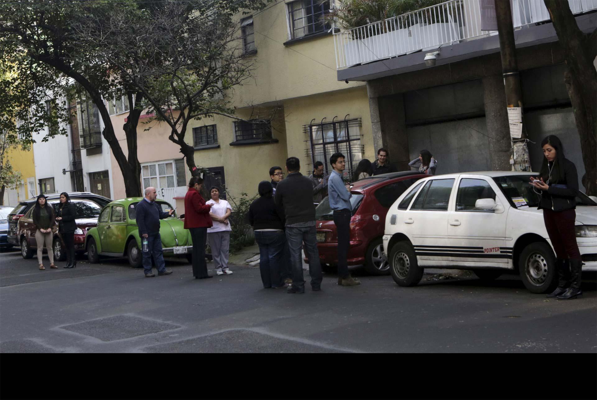 """No se reportaron víctimas o daños. Las autoridades capitalinas solo reportaron un """"leve deslizamiento de tierra"""""""