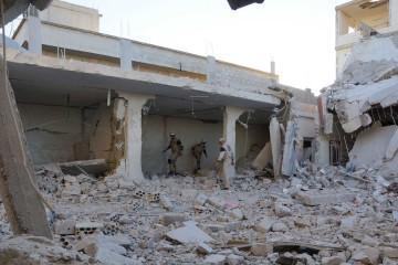 La aviación rusa bombardeó una reunión de dirigentes de Jaish al Islam