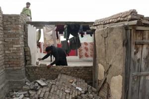 La región es muy sísmica debido al choque producido entre la placa india y la asiática