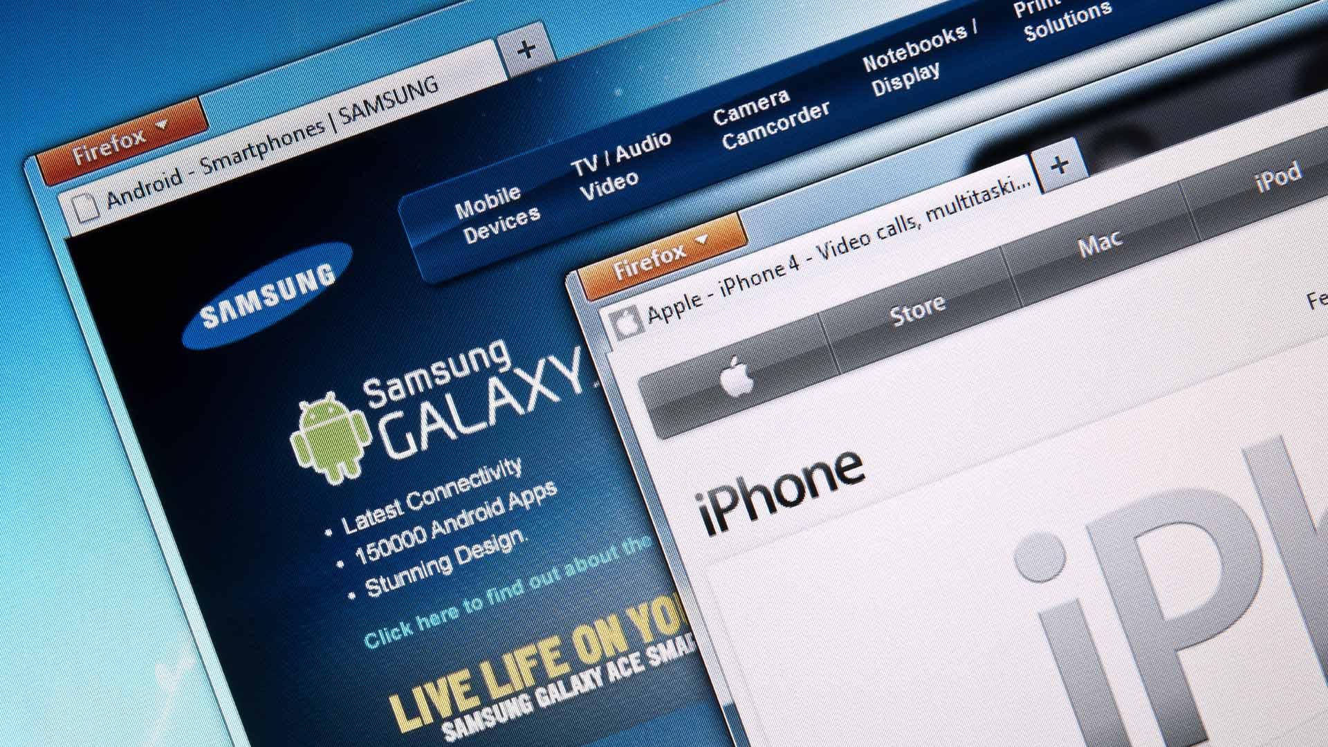 La empresa surcoreana deberá pagar 548 millones de dólares a la compañía de Steve Jobs por infringir sus patentes