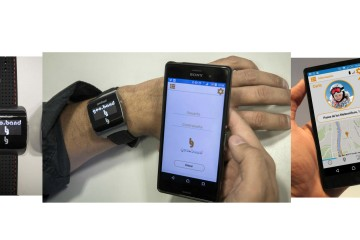 El dispositivo es un localizador GPS que se conecta a internet a través de una tarjeta SIM integrada
